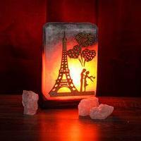 Соляная лампа 'Панно Париж', 20 см, 3 кг