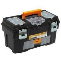 Ящик для инструментов 18' IDEA 'Гефест' с консолью и секциями, цвет черный