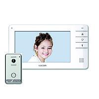 Видеодомофон цветной KCV-S701EB + панель вызова KC-S81M, комплект