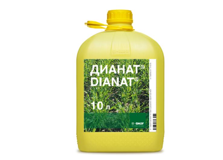 Гербицид Дианат. Высокоэффективный гербицид для контроля однолетних и многолетних двудольных сорняков.