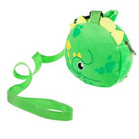 Вожжи/рюкзак 'Динозаврик', с поводком, на молнии