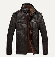 Демисезонная куртка с меховым утеплением