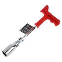 Ключ свечной TUNDRA, с карданным шарниром, 21 мм