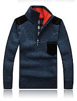 Шерстяной свитер с высоким воротником, фото 1