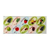 Набор цветных этикеток для домашних заготовок из ягод и фруктов, 6 х 3,5 см, 30 шт