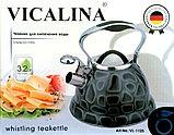 Чайник со свистком VICALINA, 3,2 литра, фото 2