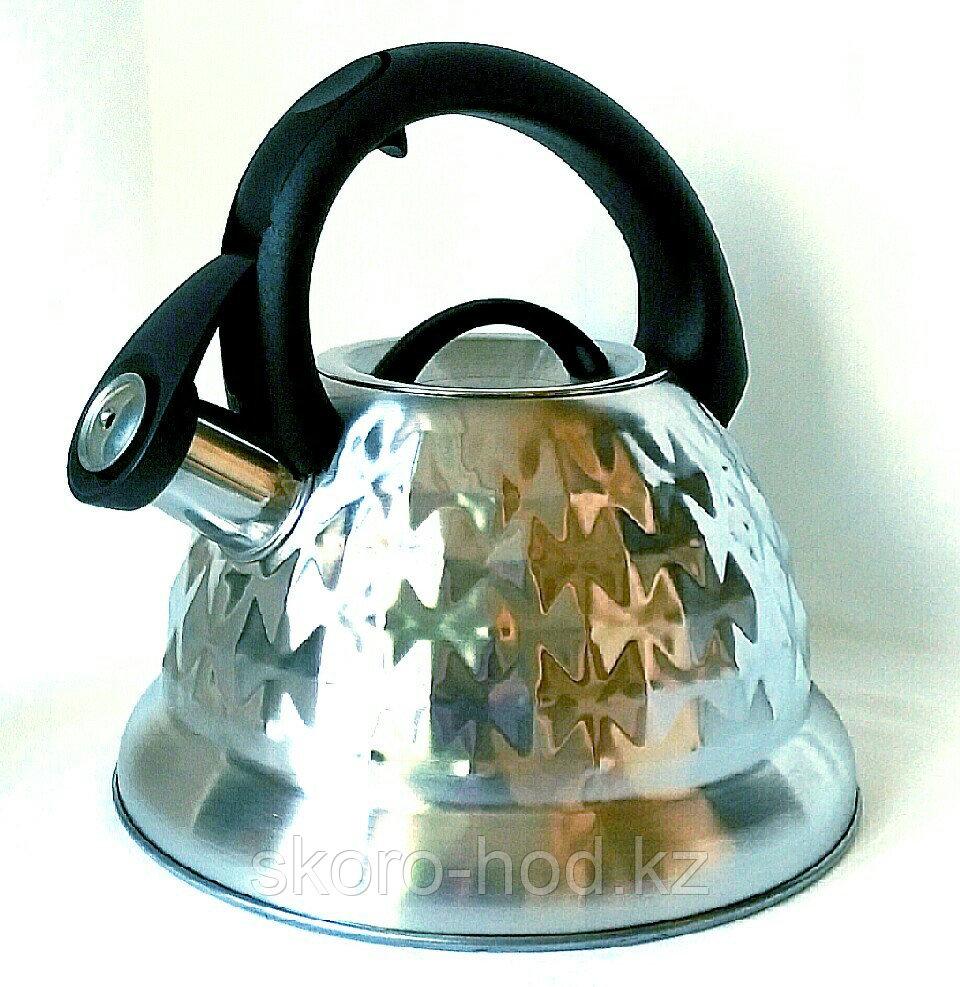 Чайник со свистком Fissman 3,2 литра