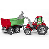 ROADMAX Трактор с ковшом и прицепом/ Bruder