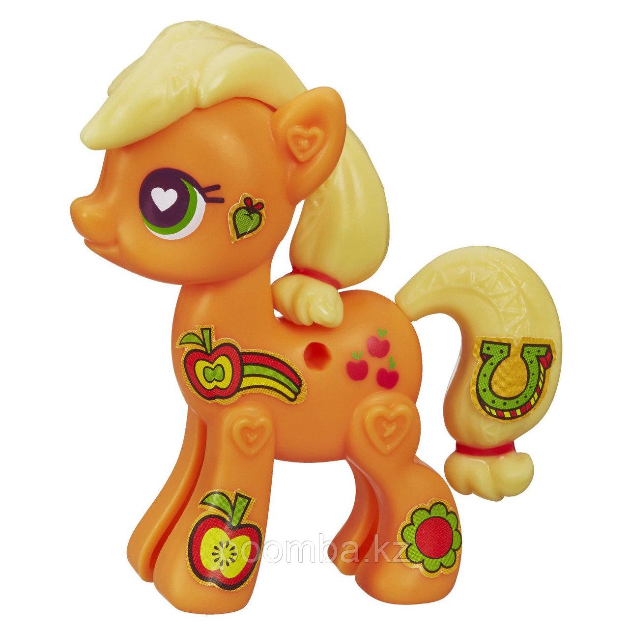 """Поп-конструктор My Little Pony """"Создай свою пони"""" - Эпплджек"""