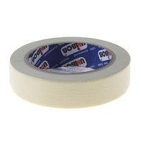 Клейкая лента UNIBOB малярная с индивидуальным стикером 25мм40м, индивидуальная упаковка