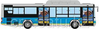 Размещение на дверях общественного транспорта