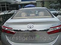 Спойлер на Toyota Corolla