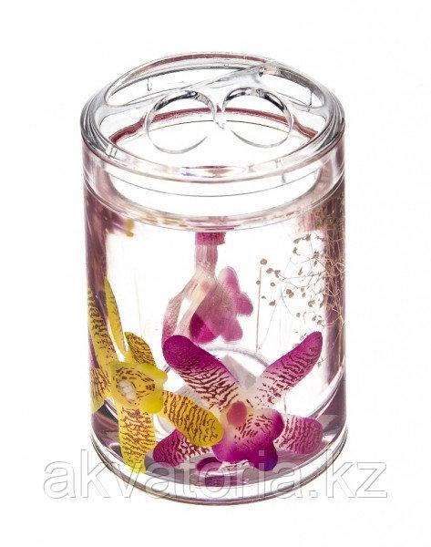 337-02 Стакан для зубной щетки, серия Орхидея