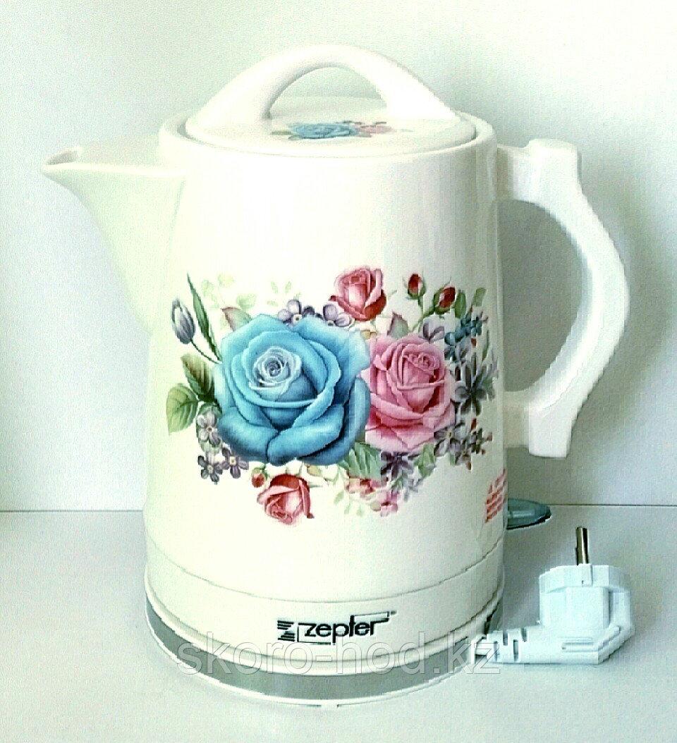 Электрический чайник Zepter в керамическом корпусе,1,6 литра