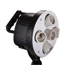 2 софтбокса 60 × 90 с 5-ю лампами и 1 софтбокс 50 × 70 с 1-й лампой на стойках с фоном 6×3 м, фото 2