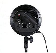 2 софтбокса 60 × 90 с 5-ю лампами и 1 софтбокс 50 × 70 с 1-й лампой на стойках с фоном 6×3 м, фото 3
