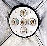 Студийный софтбокс 60×90 см с 5-ю лампами 175W на стойке, фото 4
