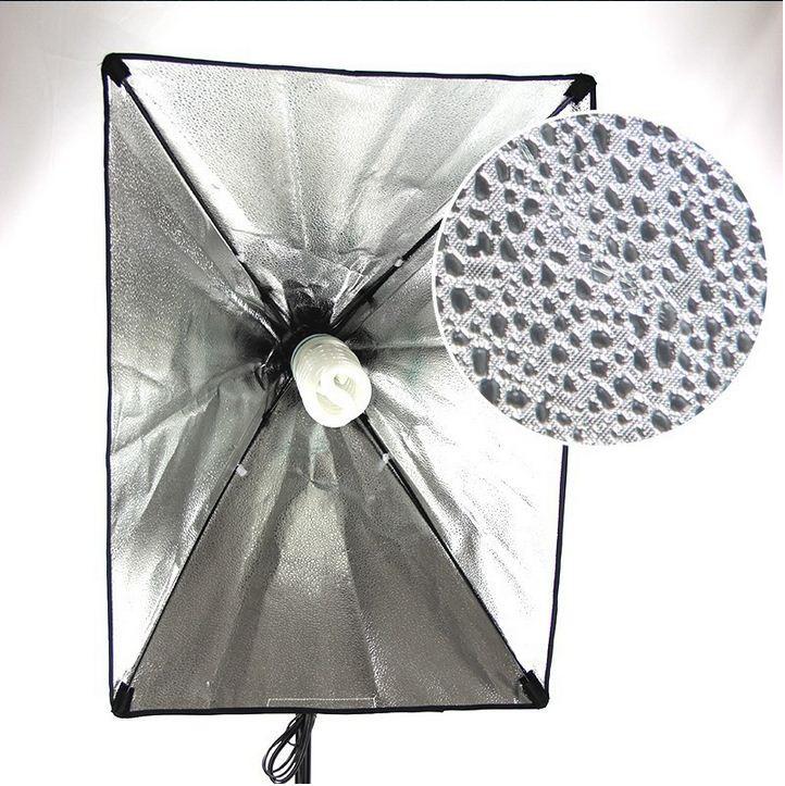 Студийный софтбокс 50 × 70 см с патроном на 1 лампу
