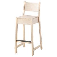Стул барный НОРРОКЕР 74 см береза ИКЕА, IKEA
