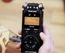Аудио рекордер tascam dr-05 +2GB SD карта памяти, фото 3