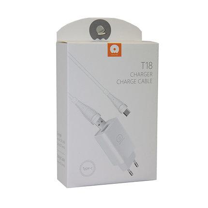Зарядное устройство WUW T18 Lightning Apple iPhone, iPad, фото 2