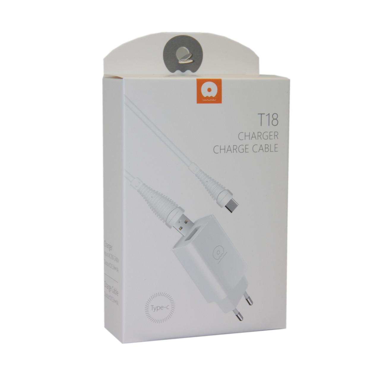 Зарядное устройство WUW T18 Lightning Apple iPhone, iPad