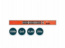 Коммутатор PoE Wi-Tek WI-PS526GV