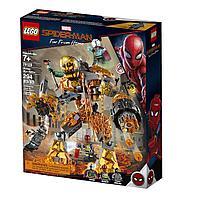 76128 Lego Super Heroes Бой с Расплавленным Человеком, Лего Супергерои Marvel