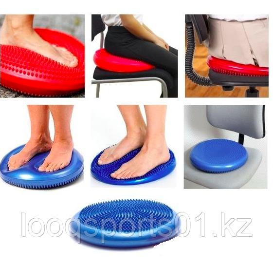 Надувная массажная подушка-тренажер балансировочная