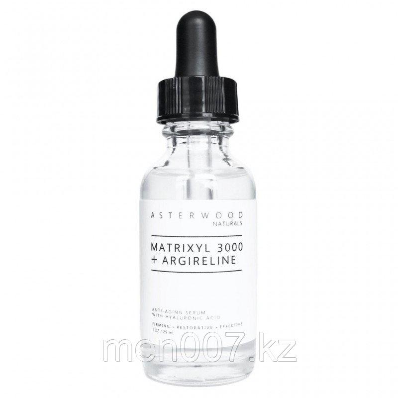Сыворотка Asterwood Naturals с гиалуроновой кислотой, матриксил 3000 и аргилерином. 30 мл