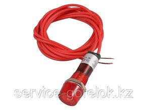 Индикаторная лампа красная с кабелем