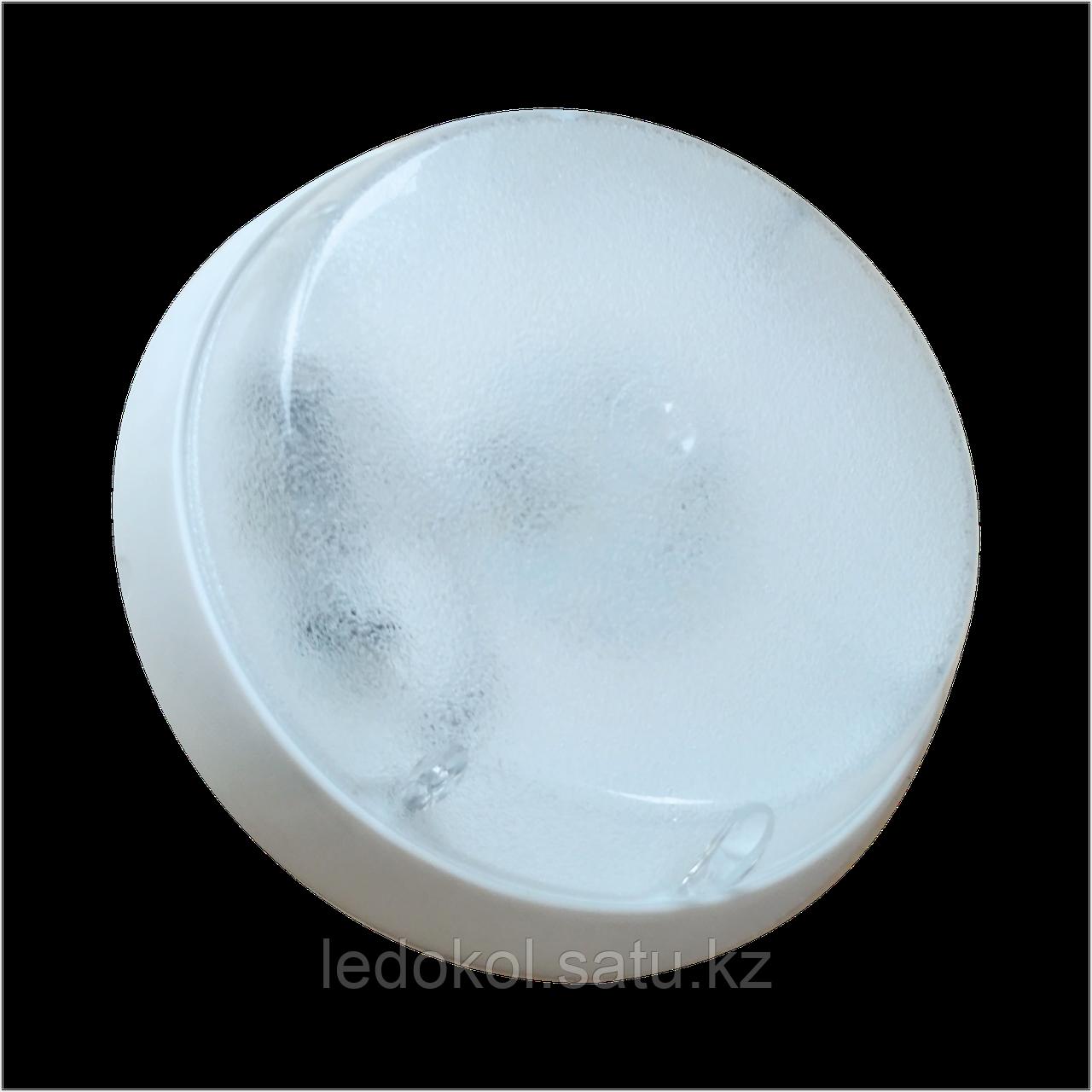 Светильники ЖКХ с микроволновым датчиком движения 6, 10, 12 Вт, пластик