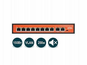 Коммутатор PoE Wi-Tek WI-PS210G, фото 2