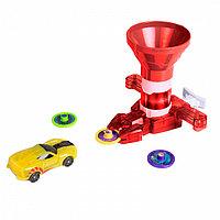 Игровой набор Дикие Скричеры - Бластер для дисков и машинка Спаркбаг Жук