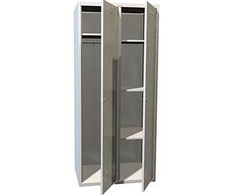 Шкаф металлический ПРАКТИК LS-21 U(1830х600х500 мм)