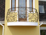 Кованые перила и балконные огр...
