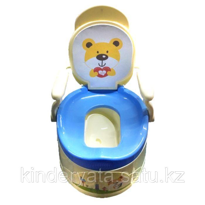 Pituso: Детский горшок-стульчик Трон голубой