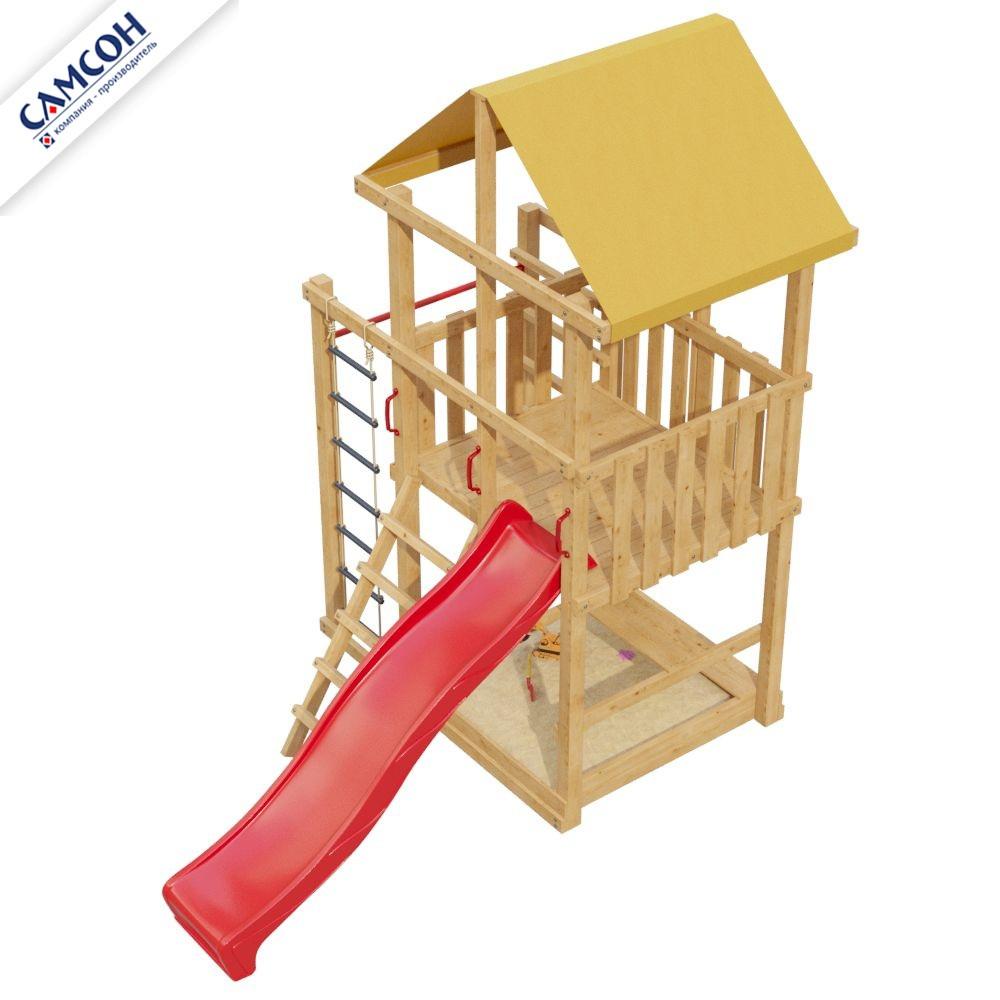 Детская игровая деревянная площадка 9-й Элемент