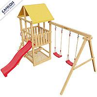 Детская игровая деревянная площадка 3-й Элемент, фото 1