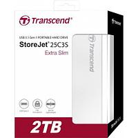 Внешний жесткий диск 2,5 2TB Transcend TS2TSJ25C3S Type C
