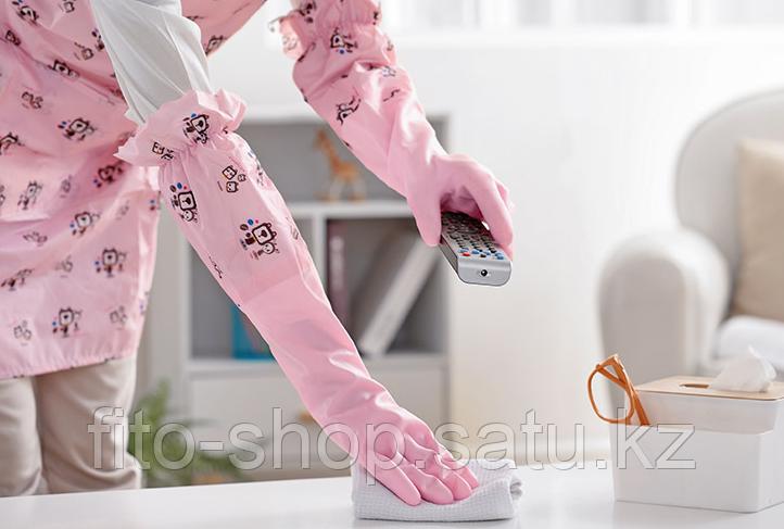 Резиновые перчатки с флисом