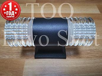 Led светильник фасадный двухсторонний 6w, декоративный. Светодиодный архитектурный прожектор 6w.