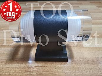 Led светильник фасадный двухсторонний 14w, декоративный. Светодиодный архитектурный прожектор 14w.