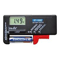 Универсальный тестер уровня заряда BT-168D для батареек и Ni-MH аккумуляторов (АА, ААА, Крона, С, D) цифровой
