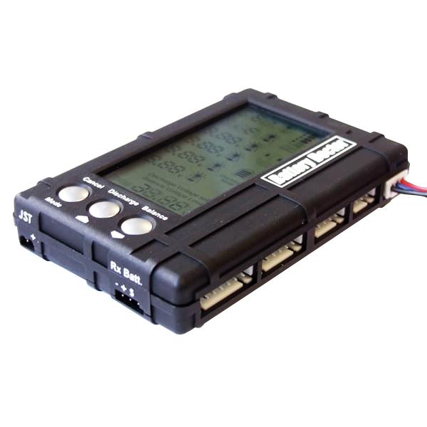 3 в 1 Балансировщик батареи для RC 2s-6s Lipo Li-Fe LCD + Тестер напряжения + разрядник