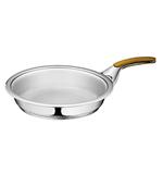 Сковорода c 1 ручкой, 2,0 л , диаметр 24 см, высота 4,5 см, ( без крышки )
