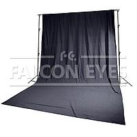 Falcon Eyes FB-01 FB-3060 тканевый фон черный (бязь), фото 1