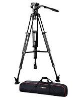 E-Image EG06A2 Штатив профессиональный для видеокамеры и DSLR до 6кг, фото 1
