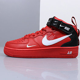 "Nikе Air Force 1 Utility Mid ""Red"" (36-45)"