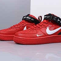 "Nike Air Force 1 Utility Mid ""Red"" (36-45), фото 7"